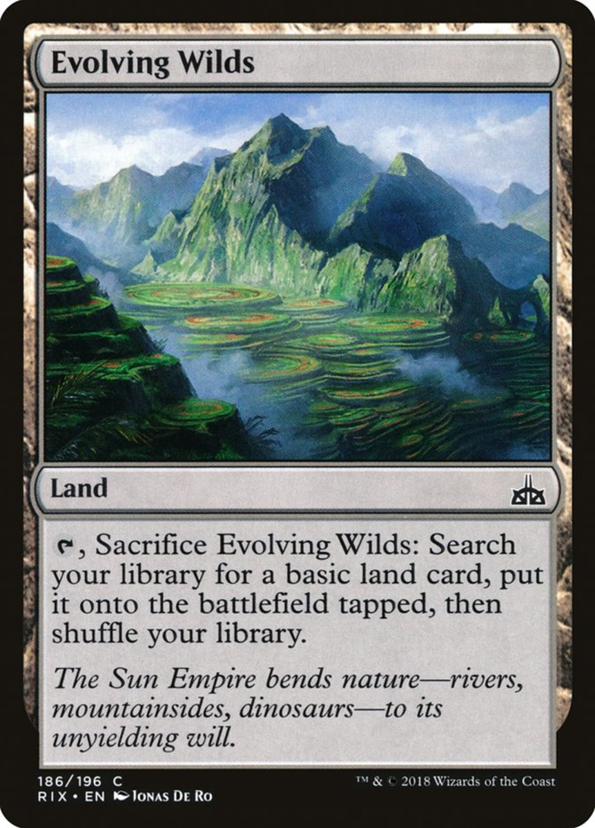 Evolving Wilds mtg