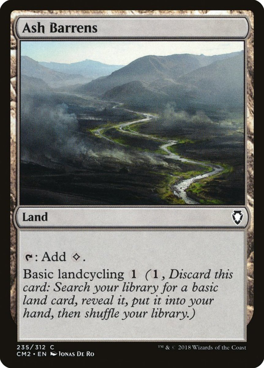 Ash Barrens mtg