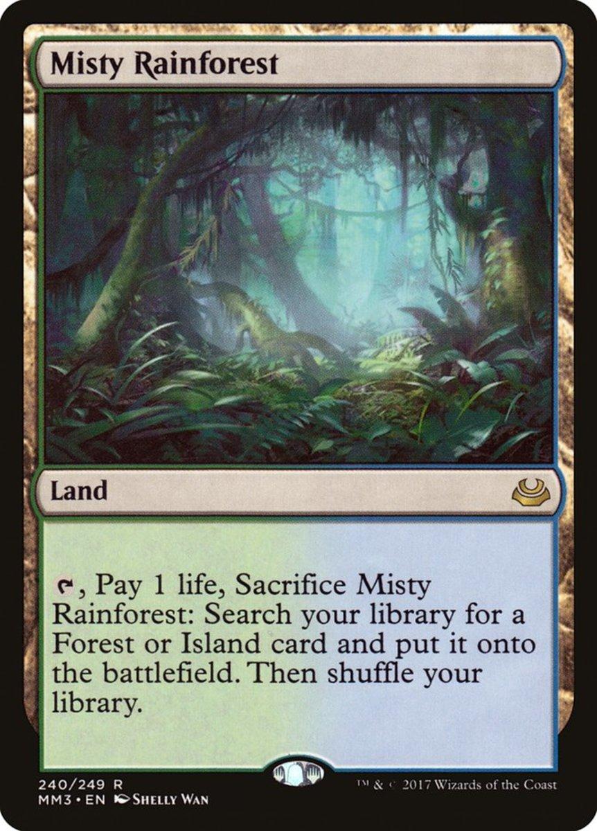 Misty Rainforest mtg