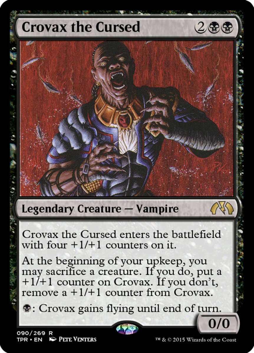 Crovax the Cursed mtg