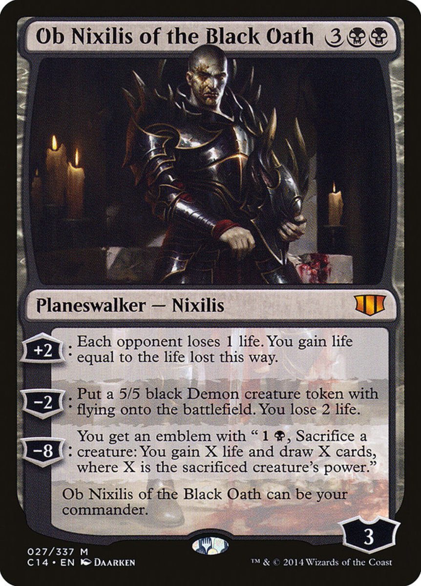 Ob Nixilis of the Black Oath mtg