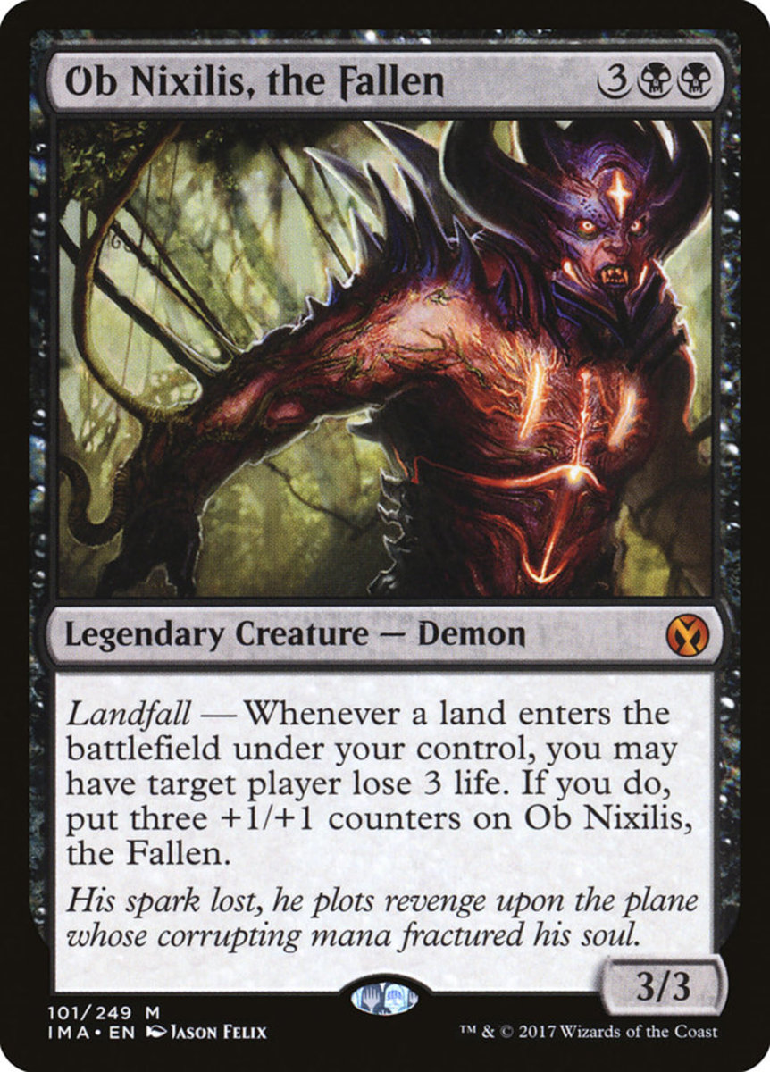 Ob Nixilis, the Fallen mtg