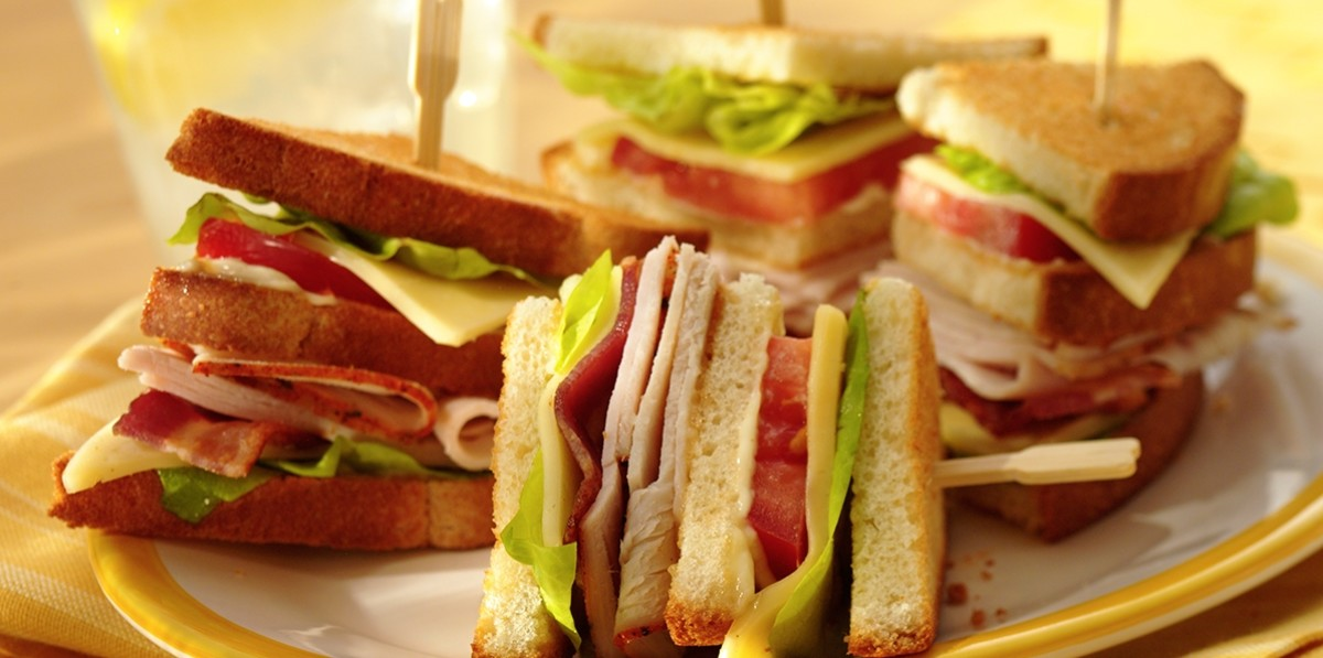 In 1989, club sandwiches were real crowd-pleasers.
