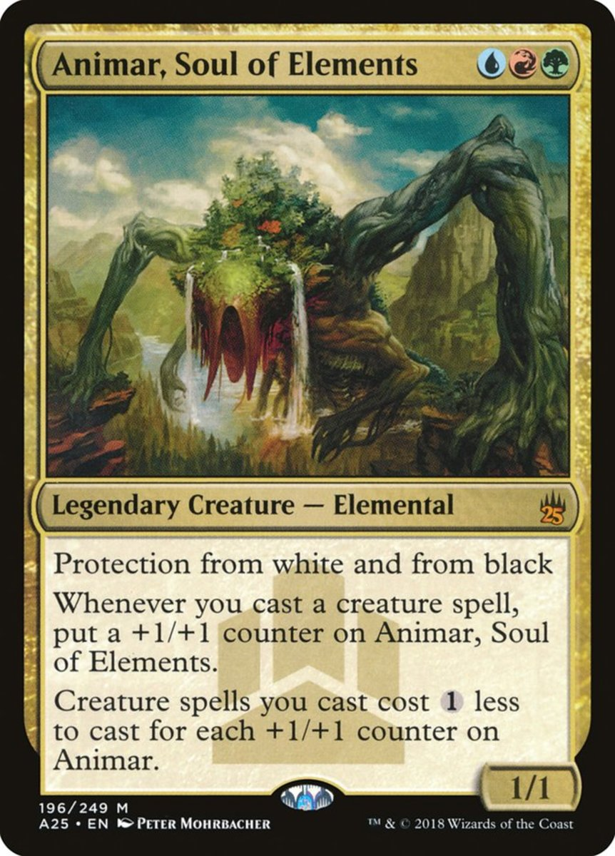 Animar, Soul of Elements mtg
