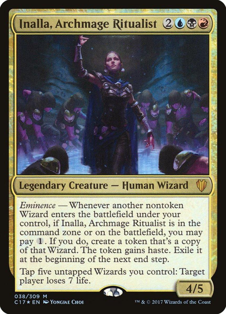 Inalla, Archmage Ritualist mtg