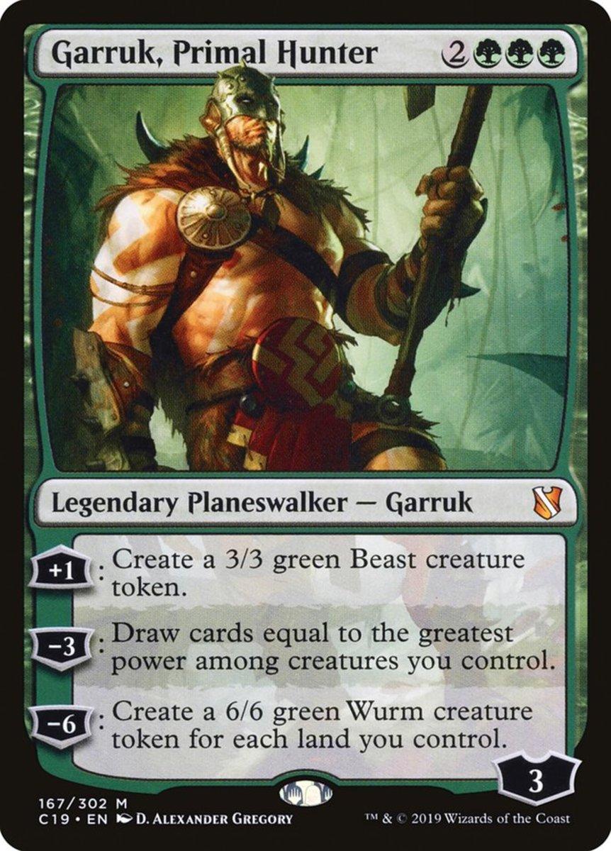Garruk, Primal Hunter mtg