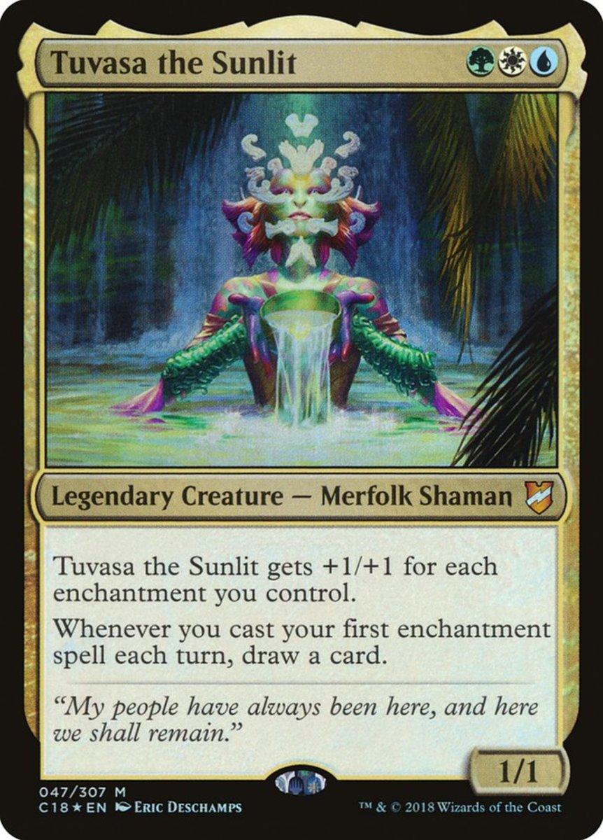 Tuvasa the Sunlit mtg