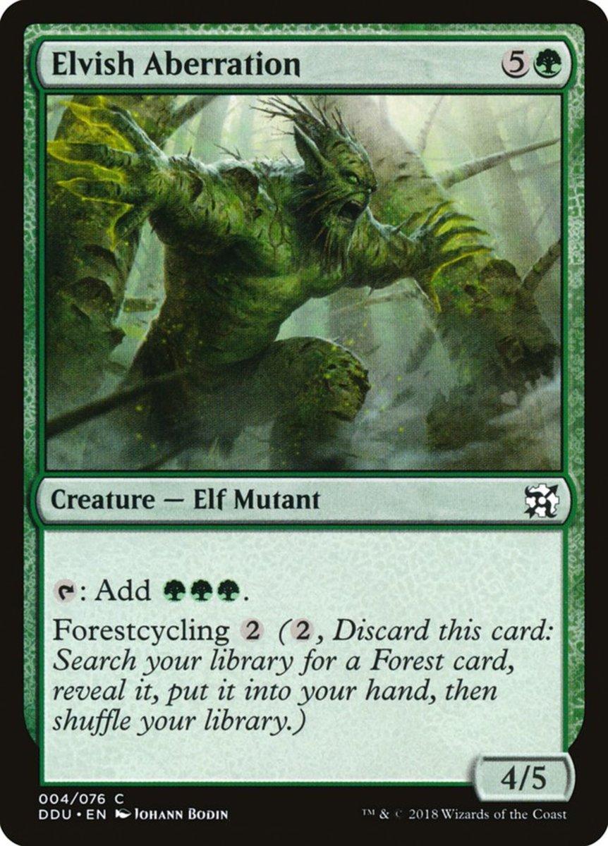 Elvish Aberration mtg