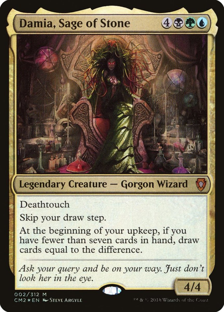 Damia, Sage of Stone mtg