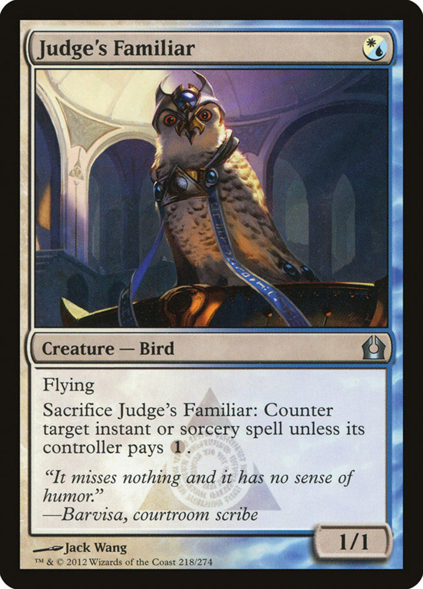 Judge's Familiar mtg