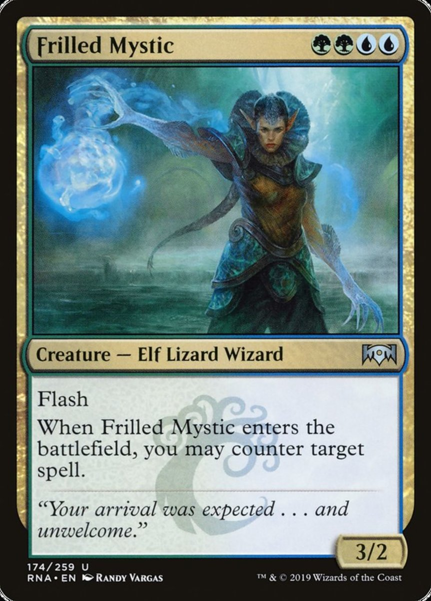 Frilled Mystic mtg