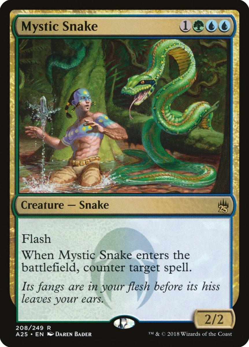 Mystic Snake mtg
