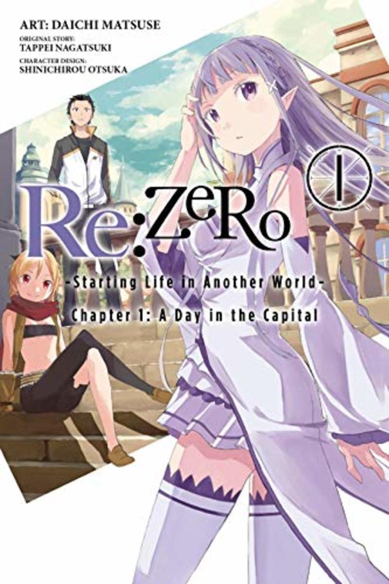 Manga Volume 1 Cover Art