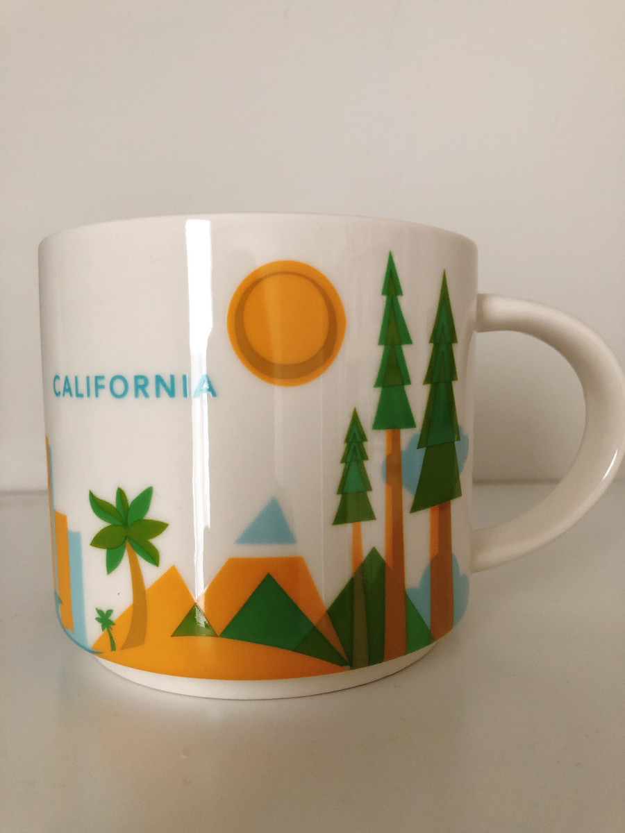 I was in Los Angeles airport when I picked up this mug.