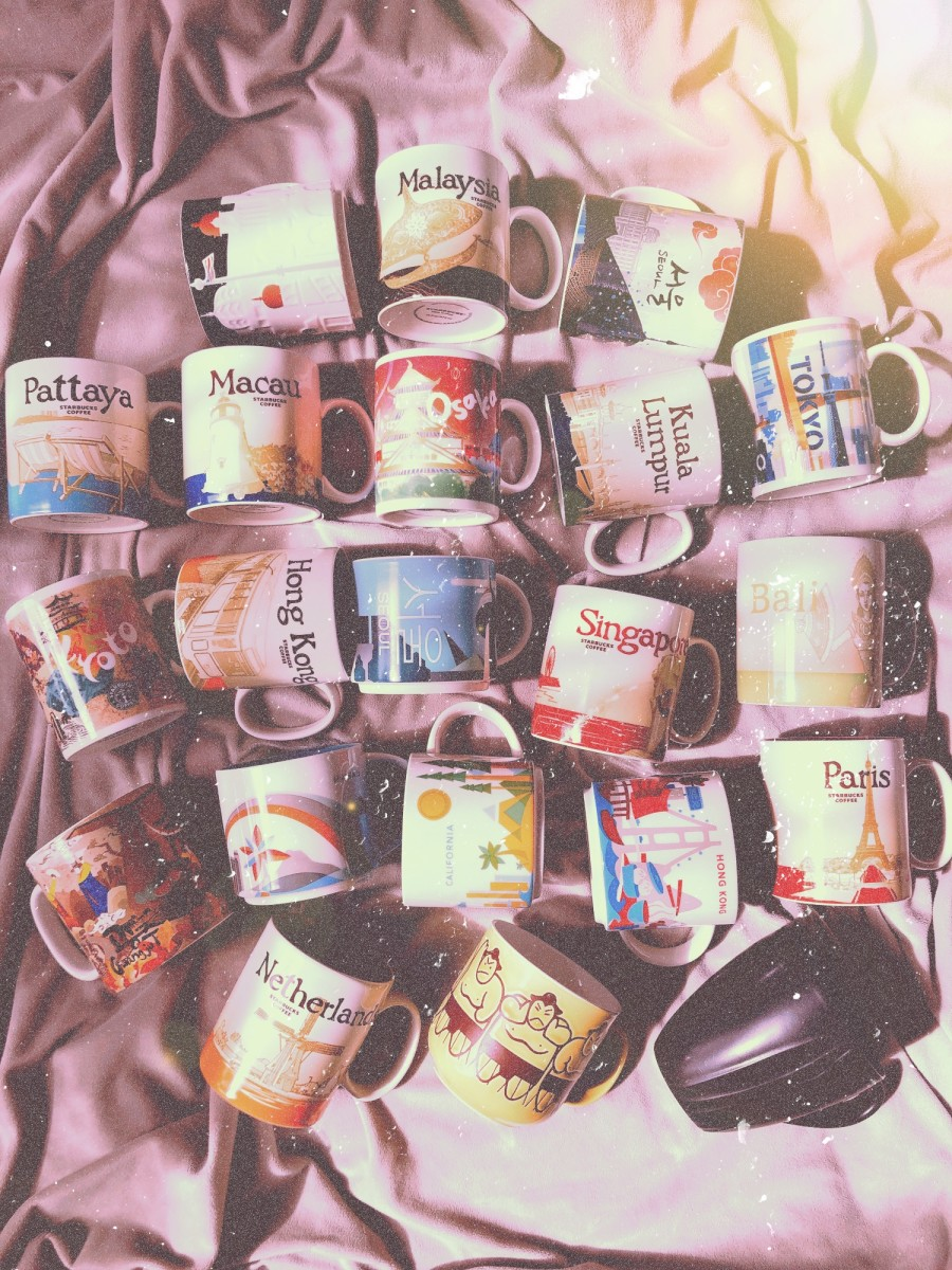 My Travel Memorabilia Collection: Coffee Mugs