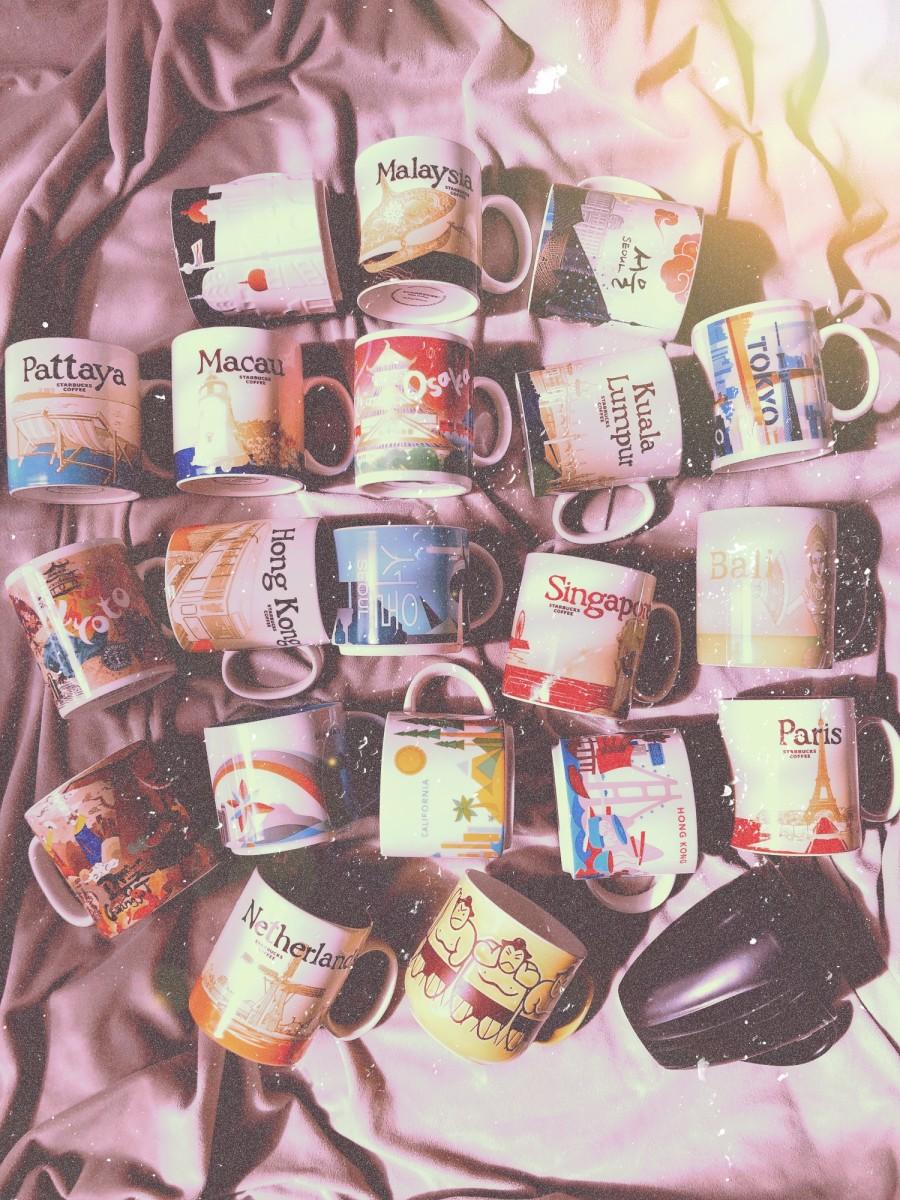 My Travel Memorabilia Collection: Coffee Mugs