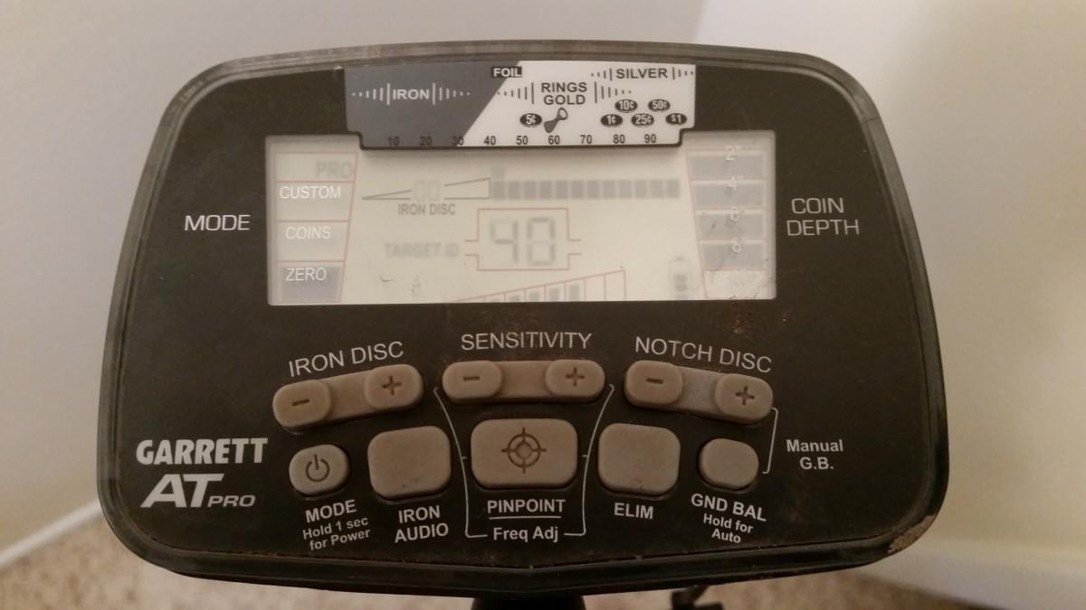 My Garrett AT Pro metal detector.