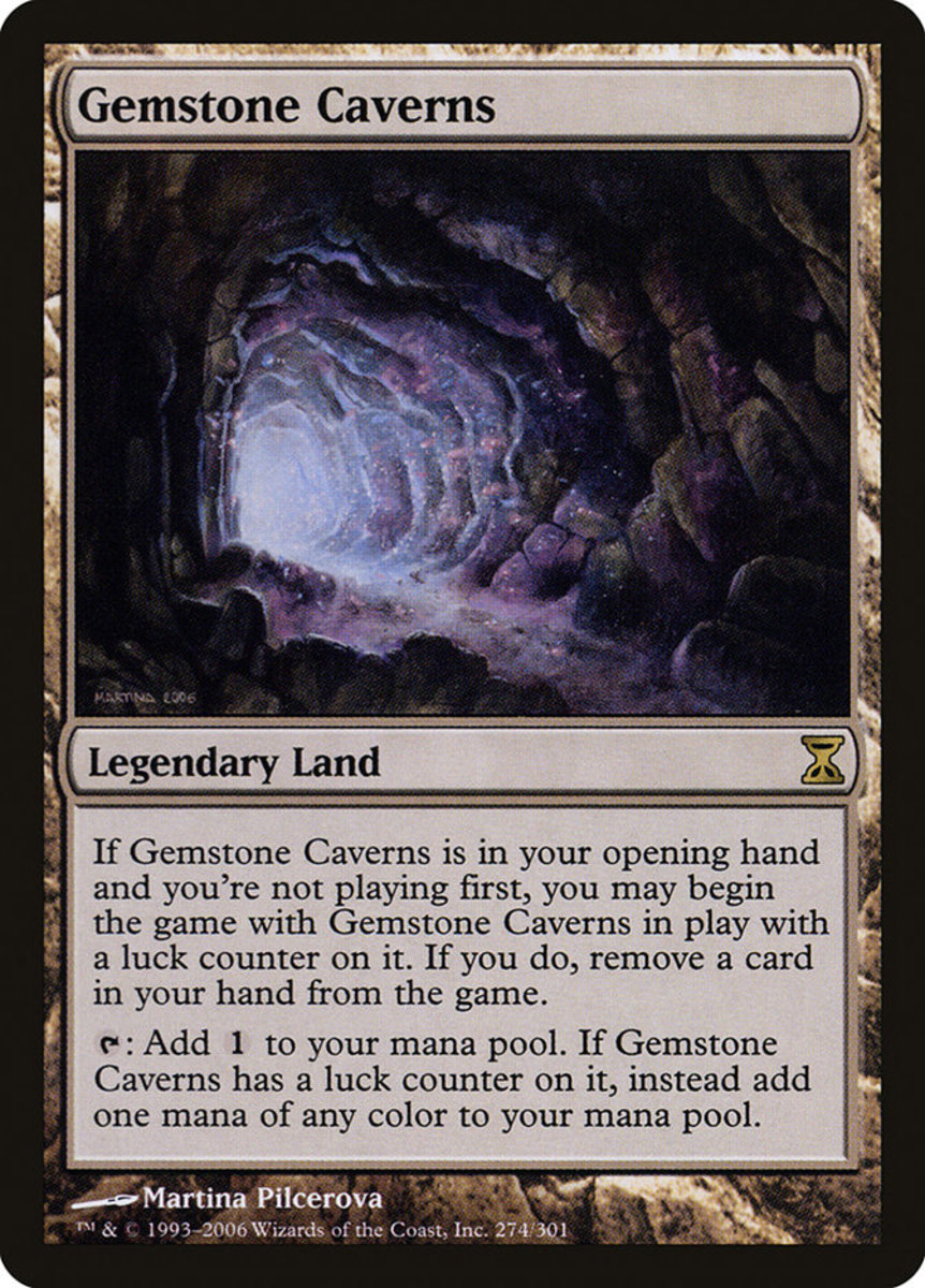 Gemstone Caverns mtg