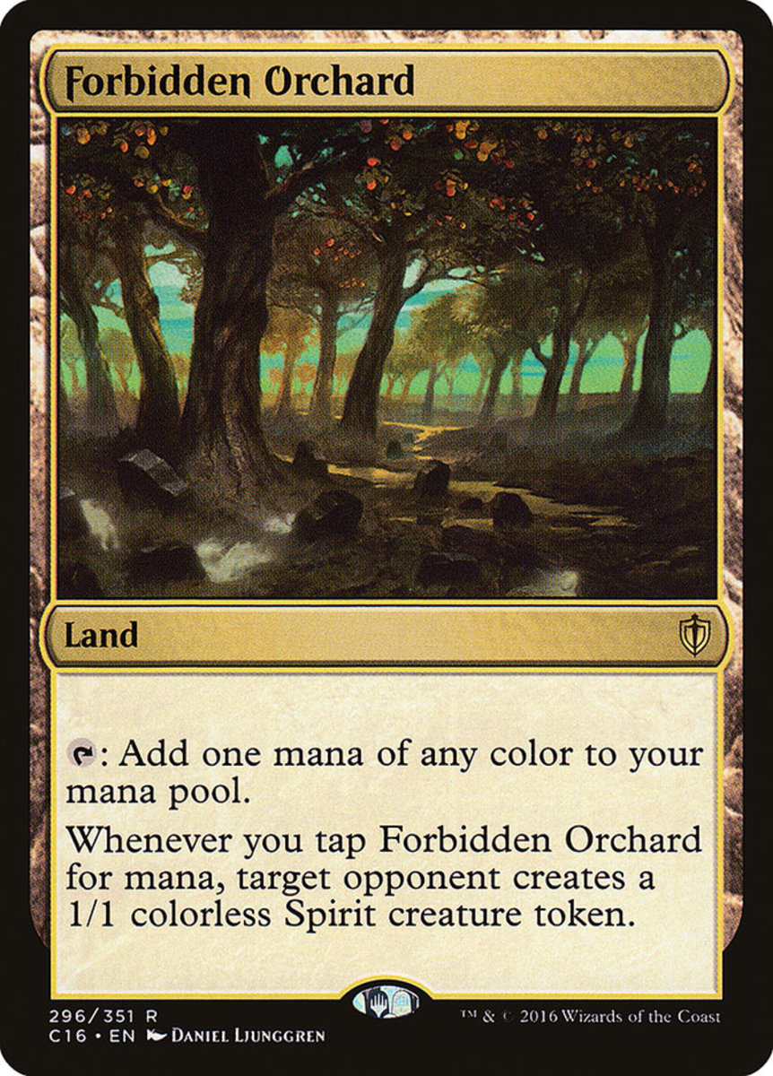 Forbidden Orchard mtg