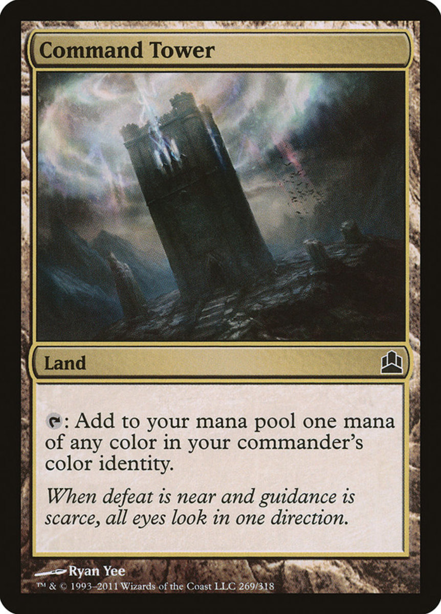 Command Tower mtg