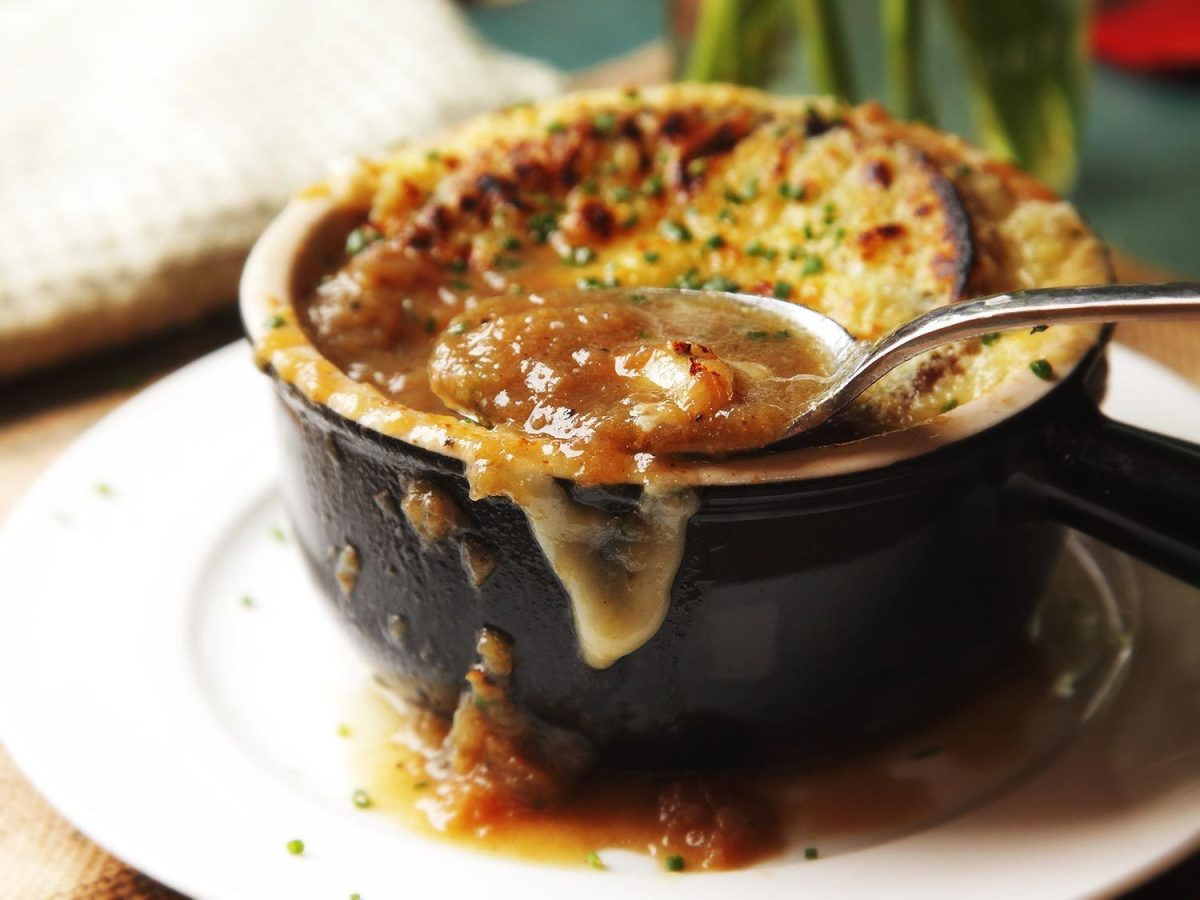 In 1988, French onion soup was all the rage.