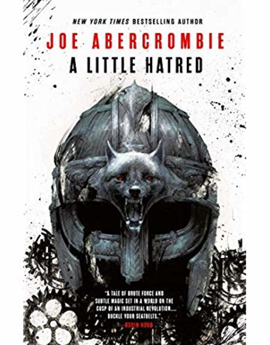 Sam Weber's cover art of A Little Hatred by Joe Abercrombie.