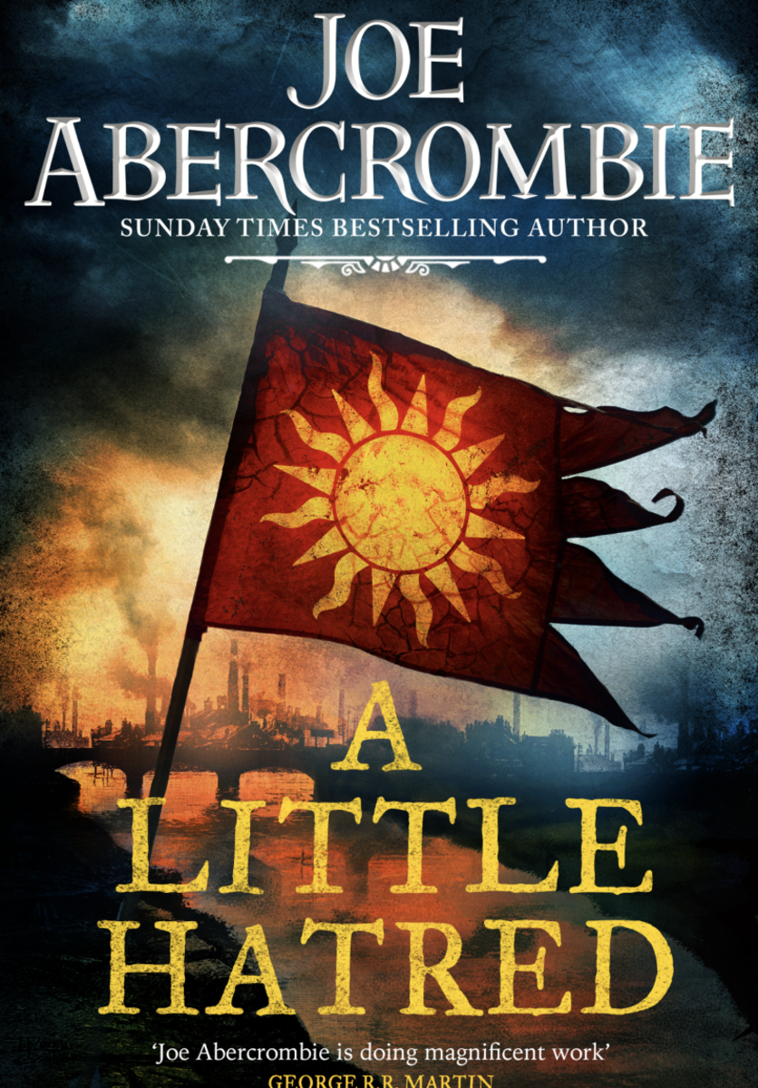 UK edition cover of A Little Hatred.