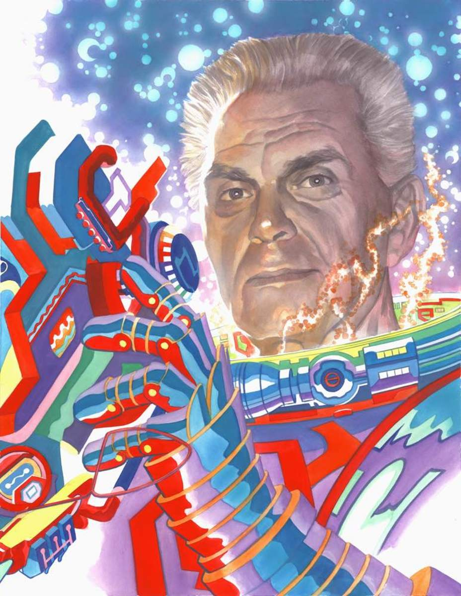 Jack Kirby - A man who thought epically.