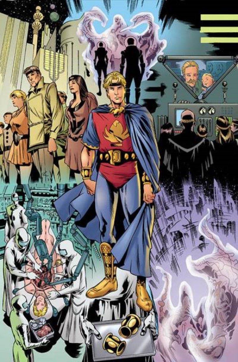 Marvel Boy and the Uranian Eternals