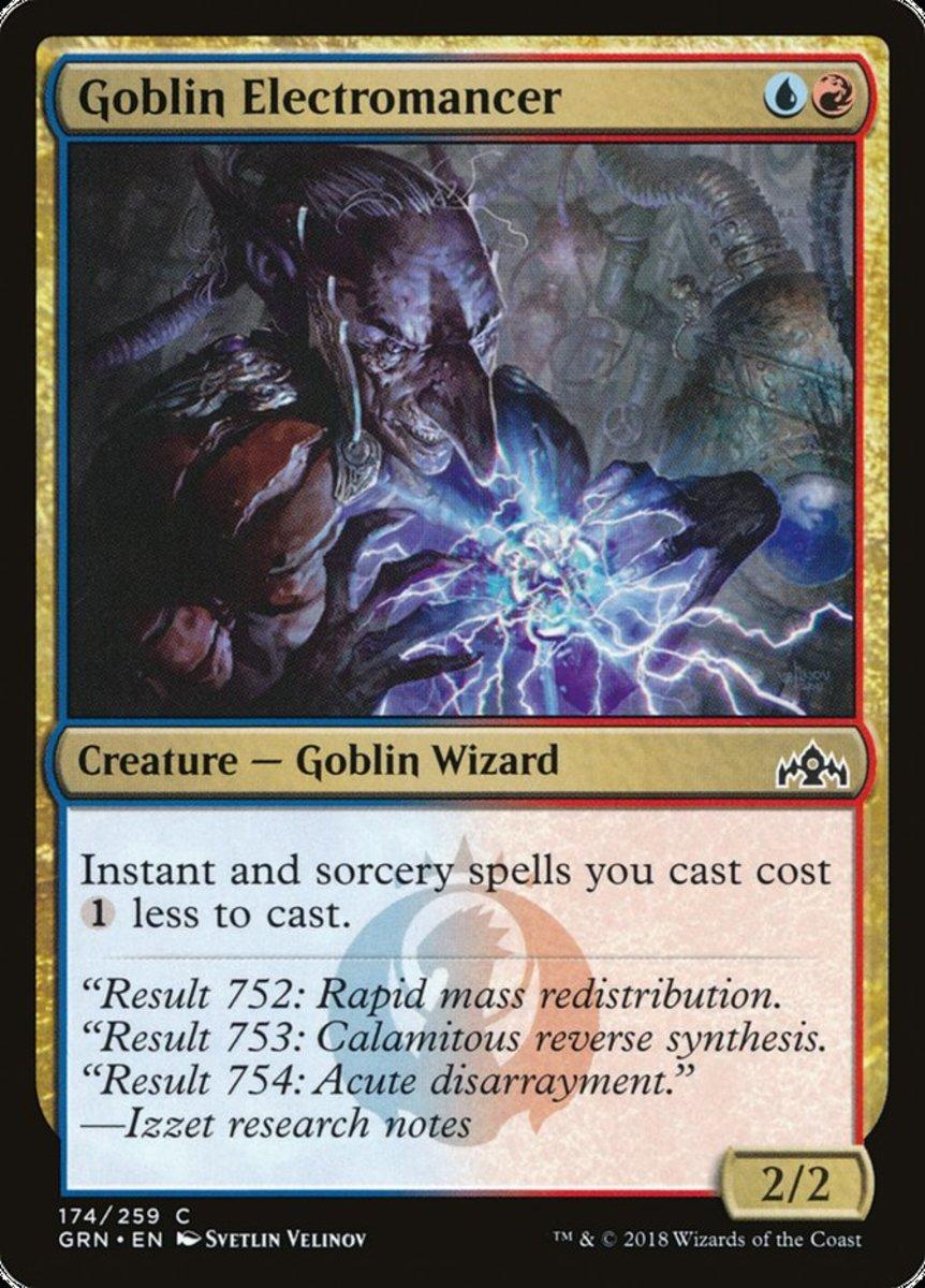 Goblin Electromancer mtg
