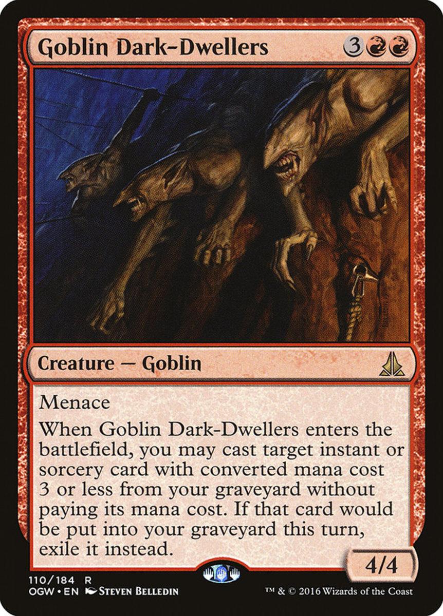 Goblin Dark-Dwellers mtg