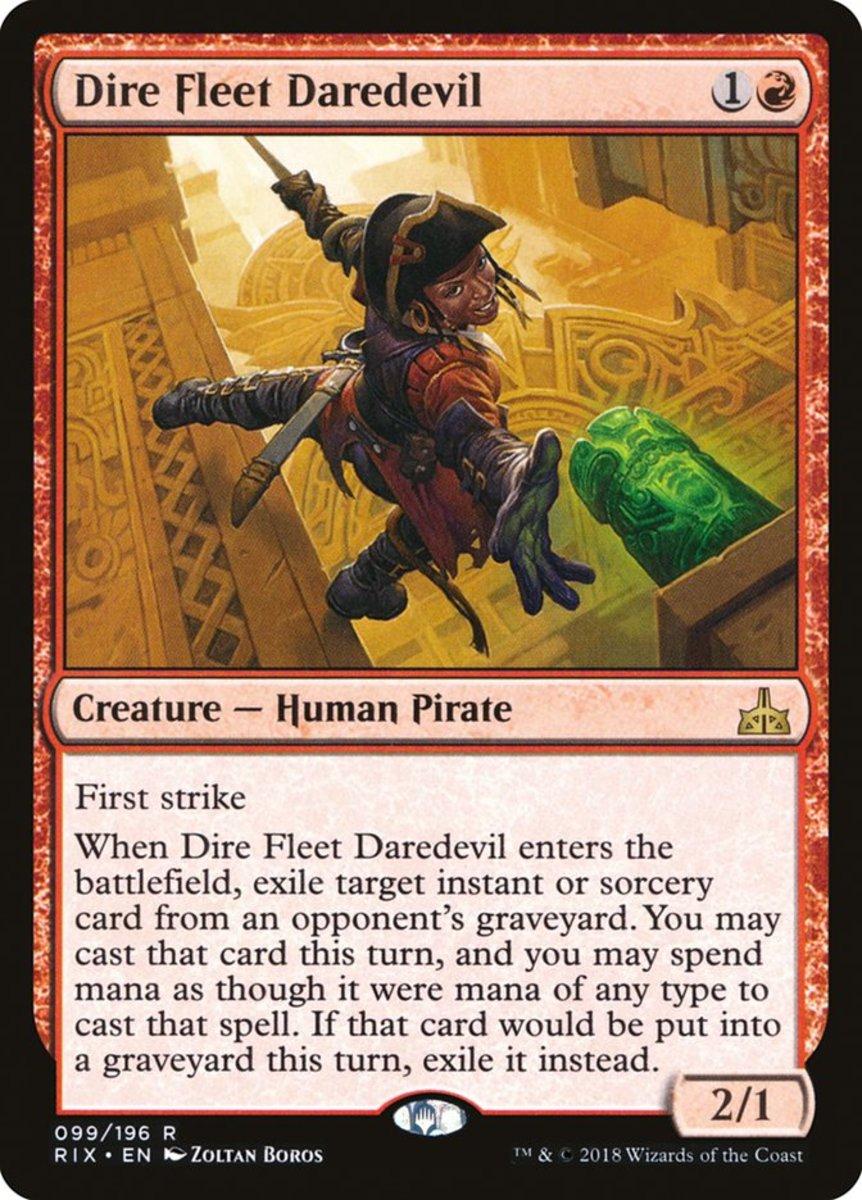 Dire Fleet Daredevil mtg
