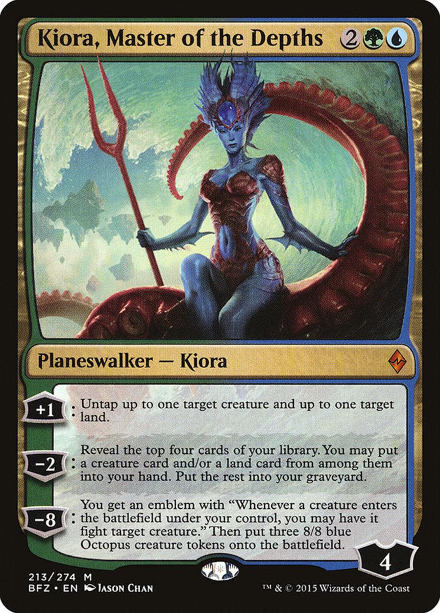 Kiora, Master of the Depths mtg