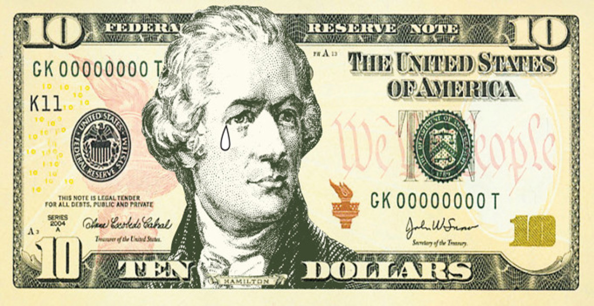 In 2015, the U.S. Treasury announced that it was booting Alexander Hamilton from the $10 bill and replacing him with a woman.