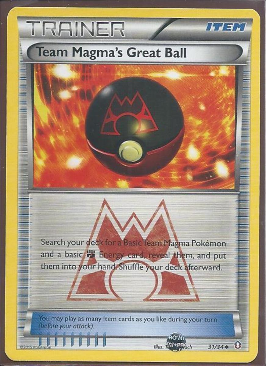 Team Magma's Great Ball