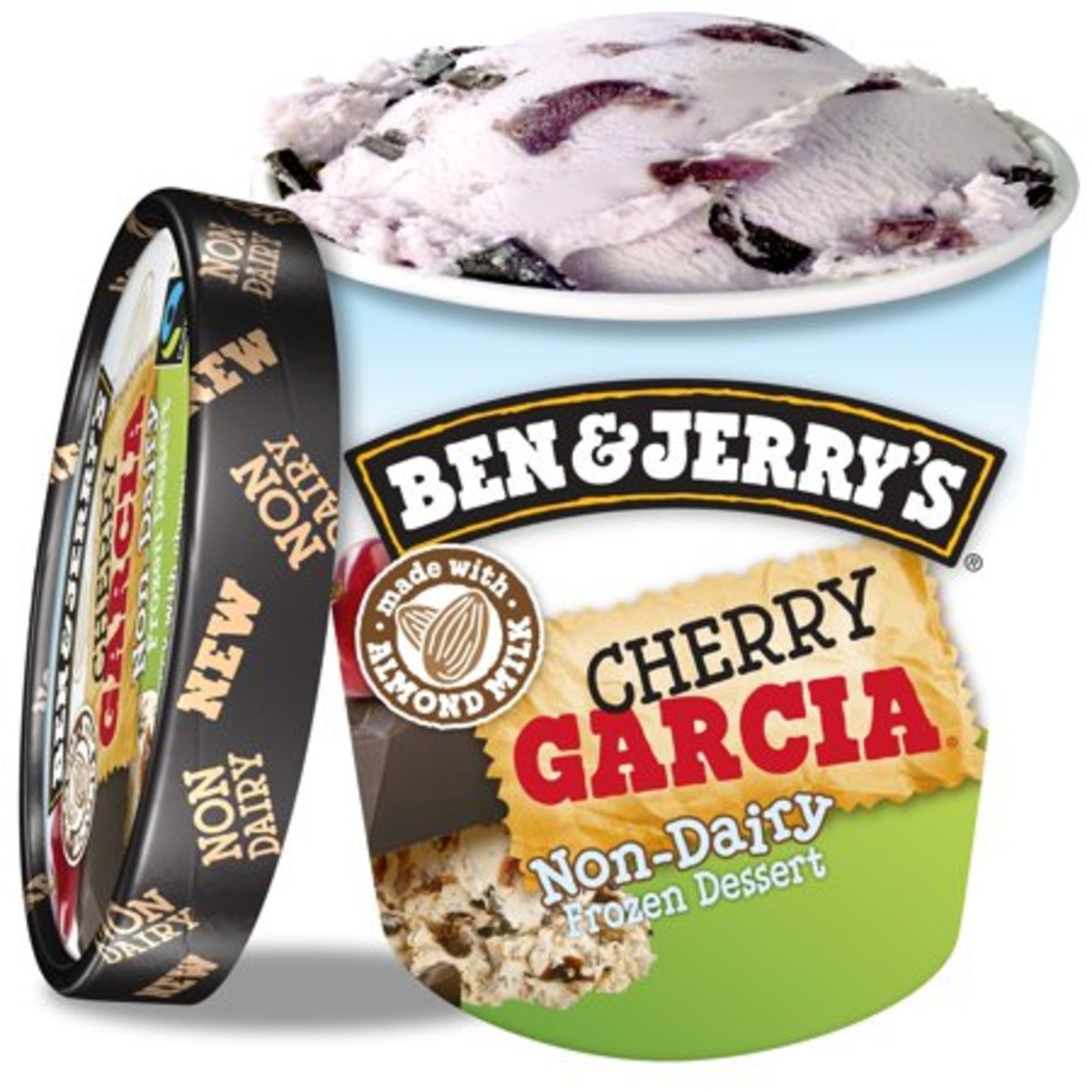 In 1987, Ben & Jerry's Ice Cream and the Grateful Dead's Jerry Garcia announced a new ice cream flavor—Cherry Garcia.
