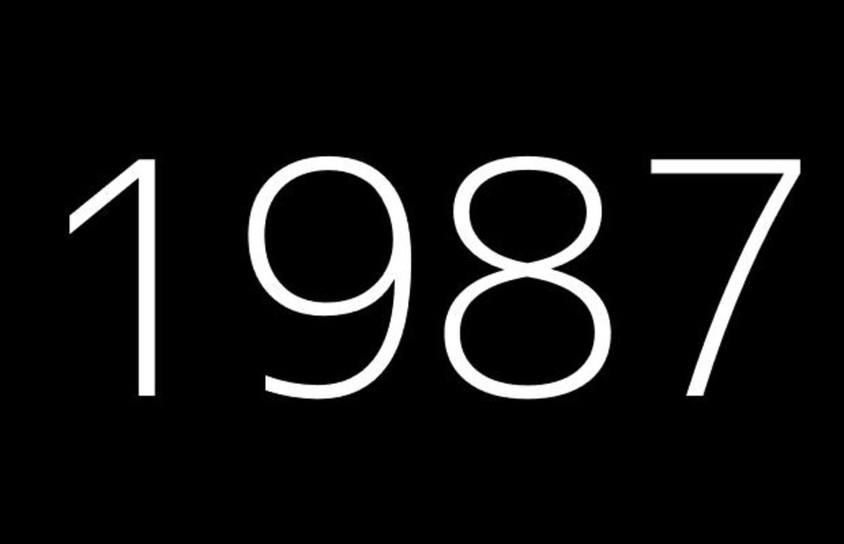 1987 Fun Facts, Trivia, and Events