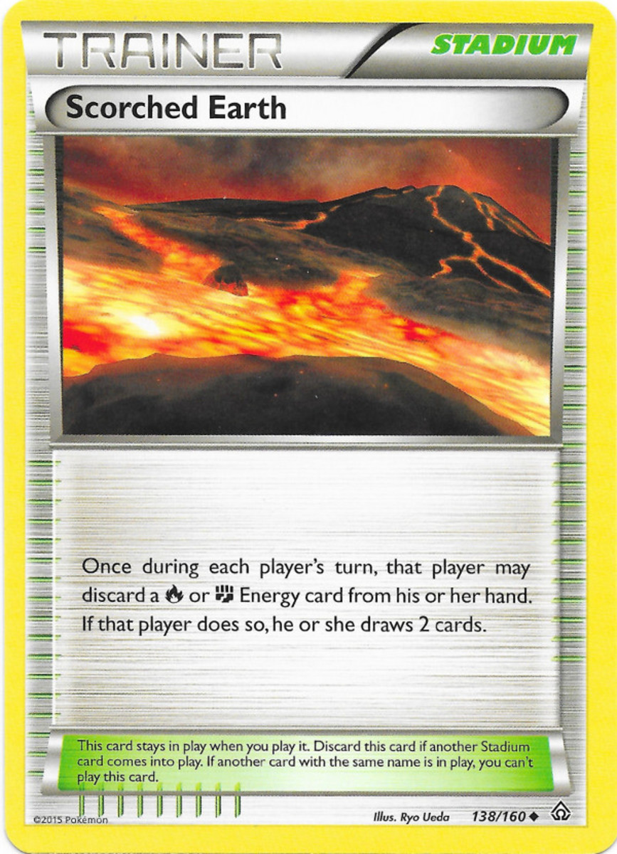 Scorched Earth tcg