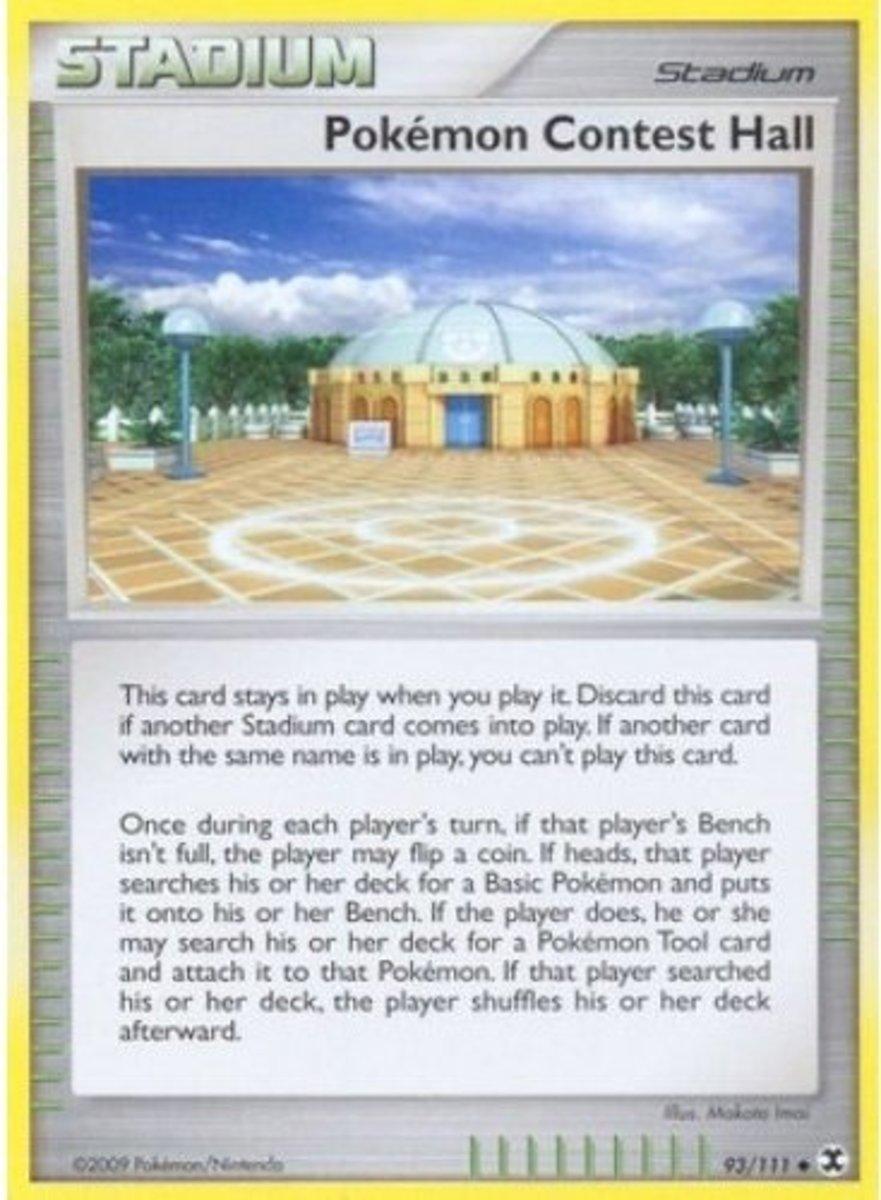 Pokémon Contest Hall tcg