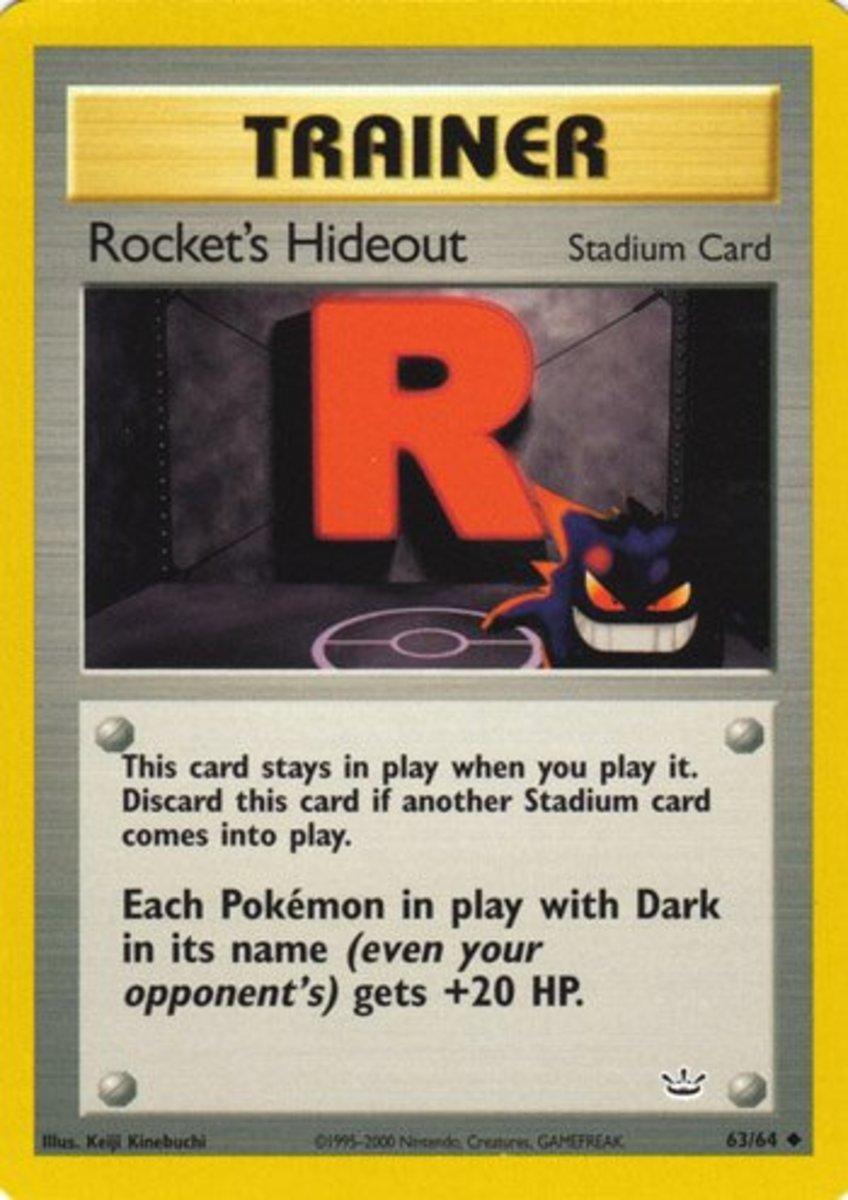 Rocket's Hideout tcg