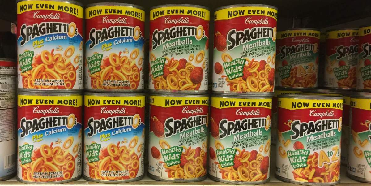 In 1991, SpaghettiOs were all the rage.