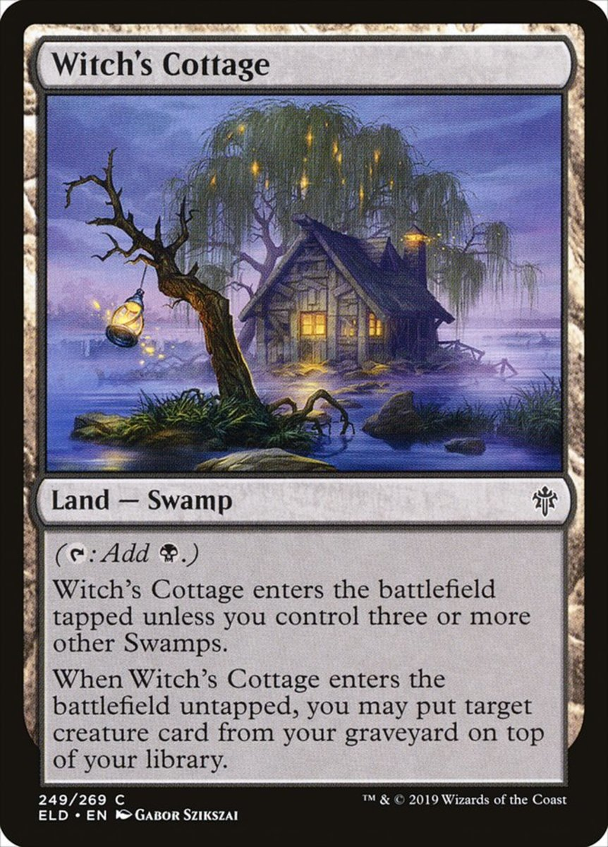 Witch's Cottage mtg