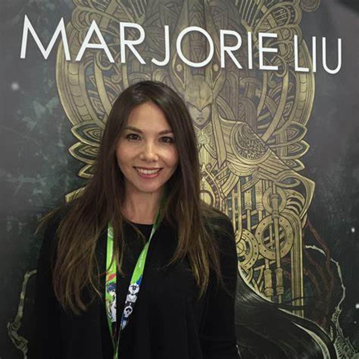 Majorie Liu, author of Monstress