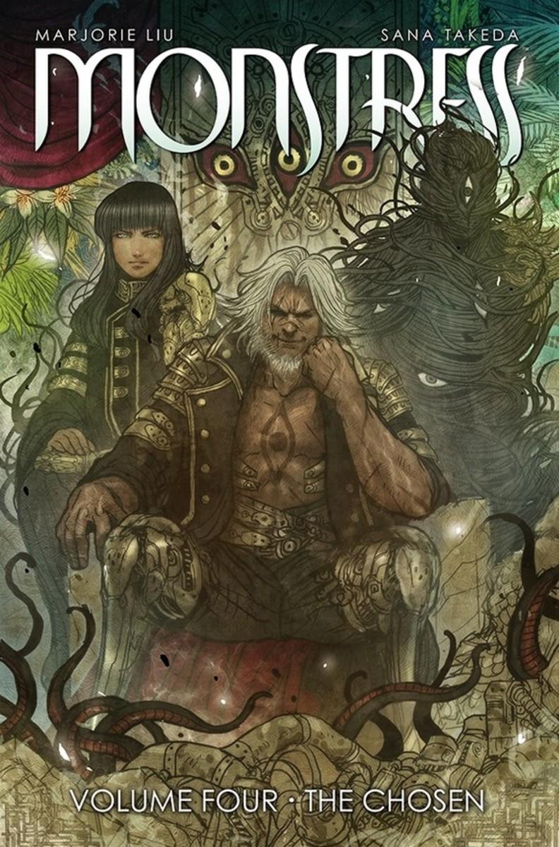 Covert Art of Monstress, Vol.4, Art by Sana Takeda.