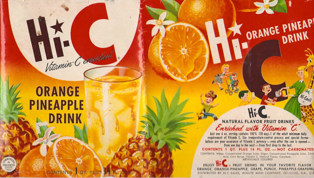 In 1992, Hi-C fruit drinks were popular beverages.