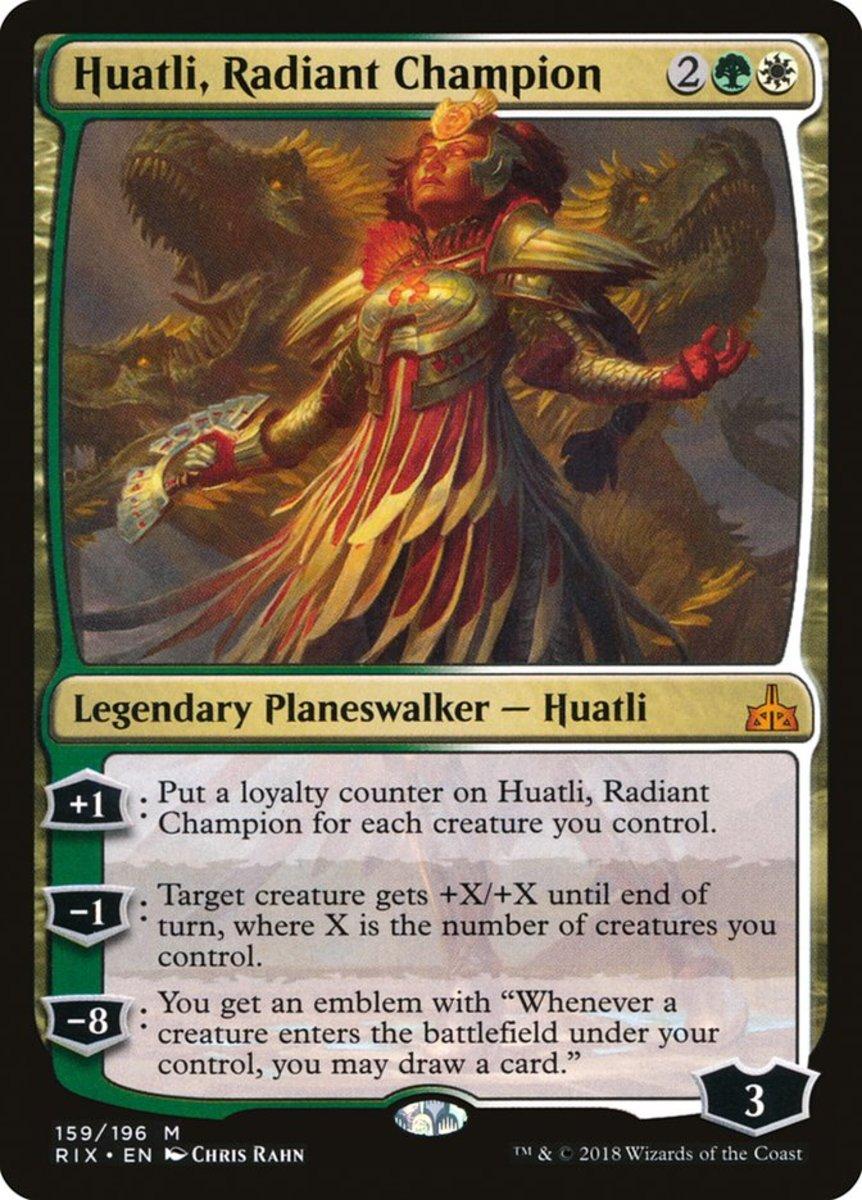 Huatli, Radiant Champion mtg
