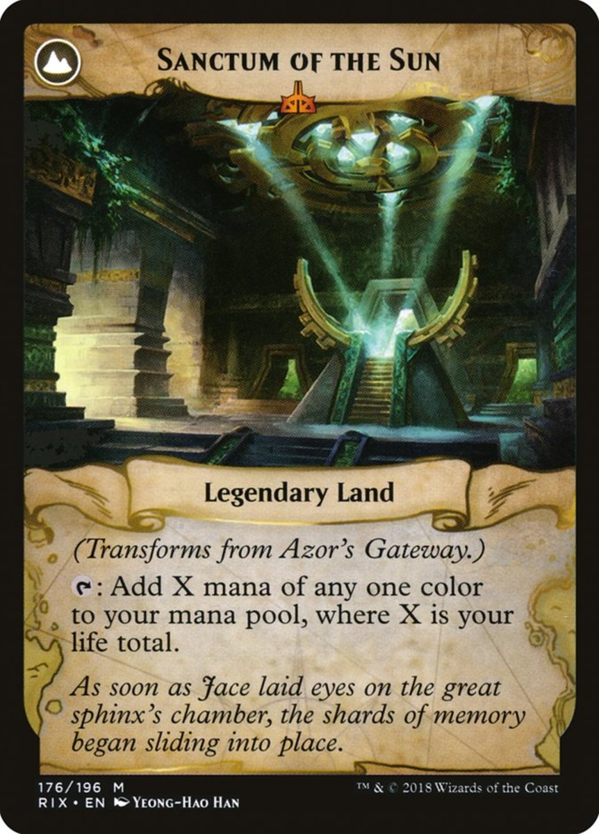 Sanctum of the Sun mtg