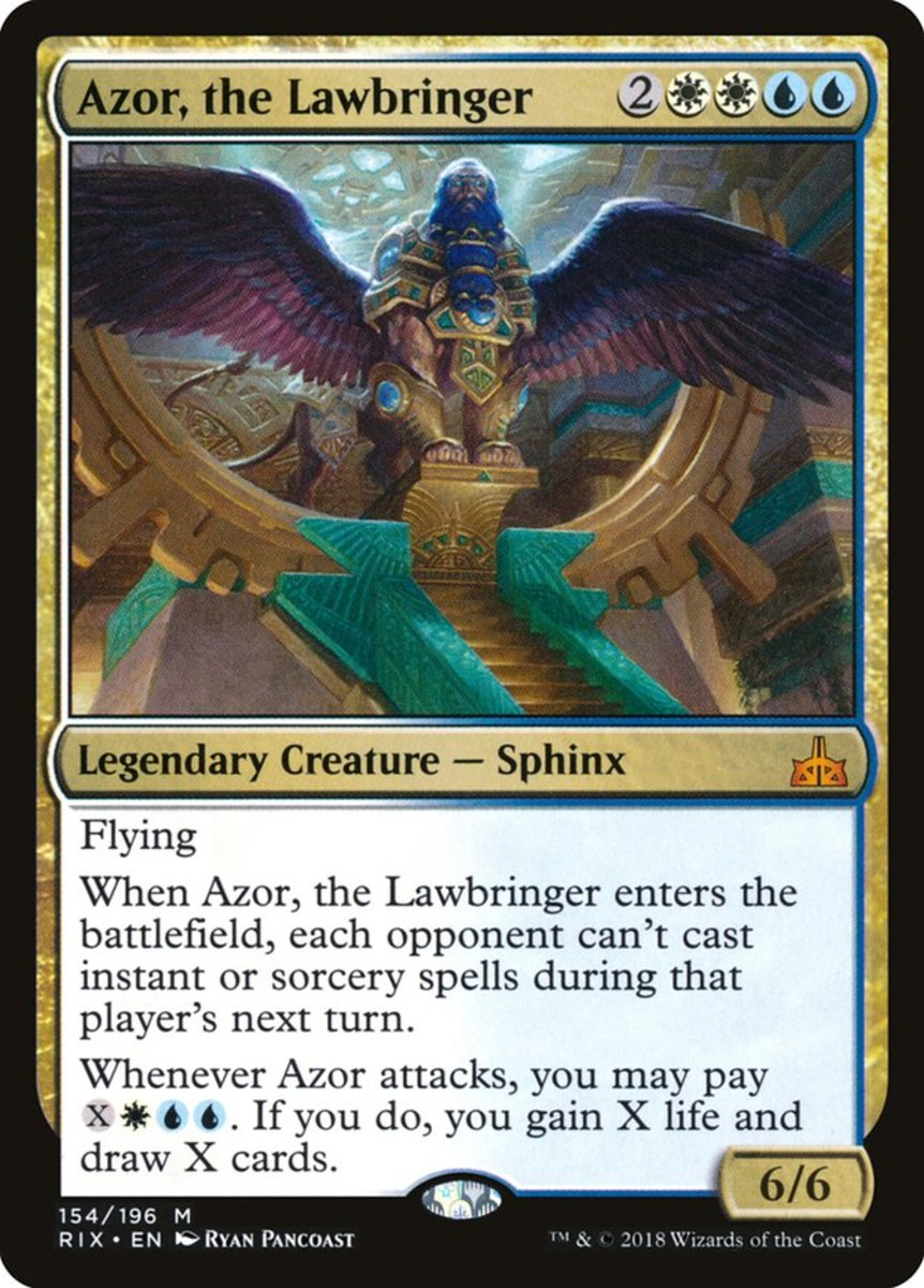 Azor, the Lawbringer mtg