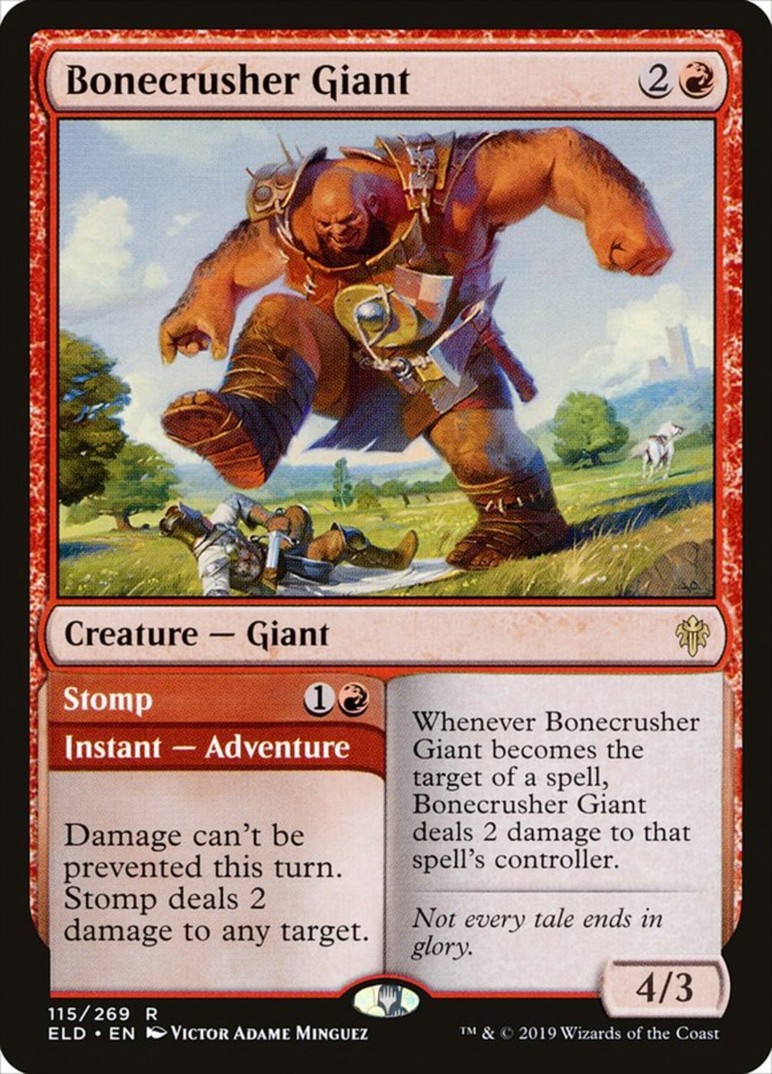 Bonecrusher Giant/Stomp mtg