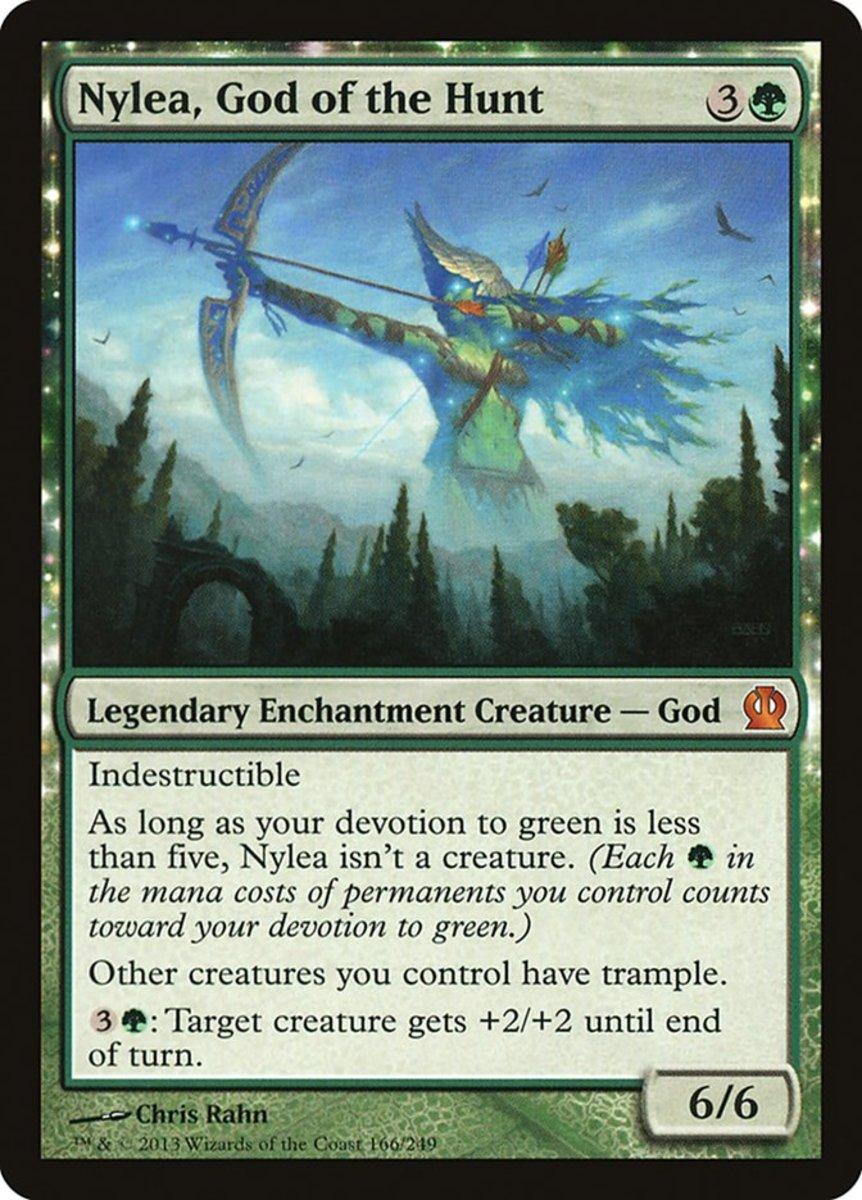 Nylea, God of the Hunt mtg